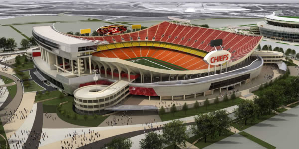 NEW ARROWHEAD (KANSAS CITY CHIEFS) STADIUM