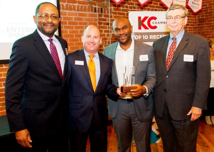 With great humility, we announce that Alpha Energy and Electric, Inc. is privileged to be the recipient of the 2017 Top 10 Small Businesses of the Year Award – named by the Kansas City Chamber of Commerce