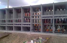 15KV Switchgear at the U.S. Department of Agriculture-APHIS campus in Ames, Iowa